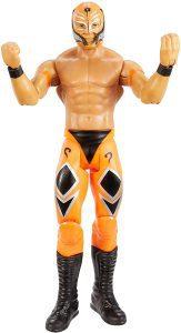 Figura de Rey Mysterio de Mattel 17 - Muñecos del Rey Mysterio - Figuras coleccionables de luchadores de WWE