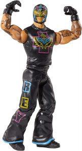 Figura de Rey Mysterio de Mattel 18 - Muñecos del Rey Mysterio - Figuras coleccionables de luchadores de WWE