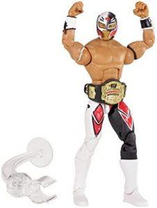 Figura de Rey Mysterio de Mattel 19 - Muñecos del Rey Mysterio - Figuras coleccionables de luchadores de WWE