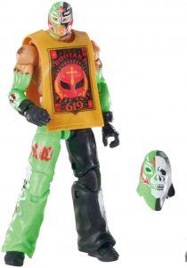 Figura de Rey Mysterio de Mattel 2 - Muñecos del Rey Mysterio - Figuras coleccionables de luchadores de WWE