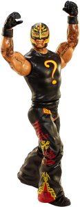 Figura de Rey Mysterio de Mattel 20 - Muñecos del Rey Mysterio - Figuras coleccionables de luchadores de WWE