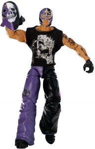 Figura de Rey Mysterio de Mattel 4 - Muñecos del Rey Mysterio - Figuras coleccionables de luchadores de WWE