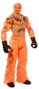Figura de Rey Mysterio de Mattel 5 - Muñecos del Rey Mysterio - Figuras coleccionables de luchadores de WWE