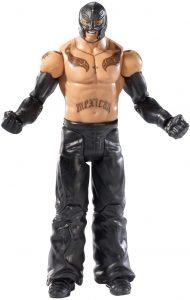 Figura de Rey Mysterio de Mattel 8 - Muñecos del Rey Mysterio - Figuras coleccionables de luchadores de WWE