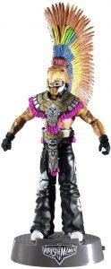 Figura de Rey Mysterio de Mattel 9 - Muñecos del Rey Mysterio - Figuras coleccionables de luchadores de WWE