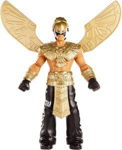 Figura de Rey Mysterio de Mattel Deluxe - Muñecos del Rey Mysterio - Figuras coleccionables de luchadores de WWE