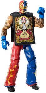 Figura de Rey Mysterio de Mattel Elite 2 - Muñecos del Rey Mysterio - Figuras coleccionables de luchadores de WWE