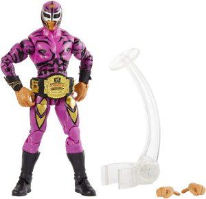 Figura de Rey Mysterio de Mattel Elite - Muñecos del Rey Mysterio - Figuras coleccionables de luchadores de WWE