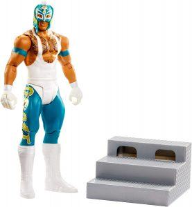 Figura de Rey Mysterio de Mattel - Muñecos del Rey Mysterio - Figuras coleccionables de luchadores de WWE