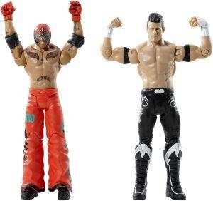 Figura de Rey Mysterio de Mattel y Evan Bourne - Muñecos del Rey Mysterio - Figuras coleccionables de luchadores de WWE