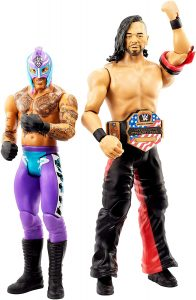 Figura de Rey Mysterio de Mattel y Shinsuke Nakamura - Muñecos del Rey Mysterio - Figuras coleccionables de luchadores de WWE