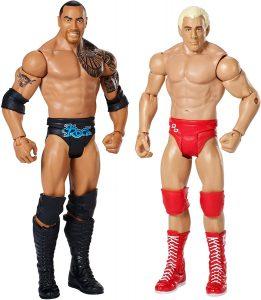 Figura de Ric Flair de Mattel y The Rock - Muñecos de Ric Flair - Figuras coleccionables de luchadores de WWE