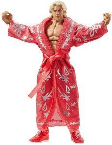 Figura de Ric Flair de Retrofest de Mattel - Muñecos de Ric Flair - Figuras coleccionables de luchadores de WWE