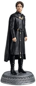 Figura de Robb Stark de Juego de Tronos de Eaglemoss - Muñecos de Juego de tronos de Robb Stark - Figuras coleccionables de Robb Stark de Game of Thrones