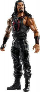 Figura de Roman Reigns de Mattel 4 - Muñecos de Roman Reigns - Figuras coleccionables de luchadores de WWE