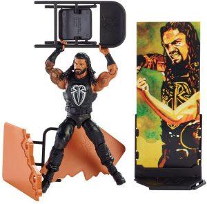 Figura de Roman Reigns de Mattel 7 - Muñecos de Roman Reigns - Figuras coleccionables de luchadores de WWE