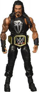 Figura de Roman Reigns de Mattel Elite - Muñecos de Roman Reigns - Figuras coleccionables de luchadores de WWE