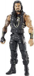 Figura de Roman Reigns de Mattel - Muñecos de Roman Reigns - Figuras coleccionables de luchadores de WWE