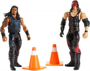 Figura de Roman Reigns y Kane de Mattel - Muñecos de Kane - Figuras coleccionables de luchadores de WWE