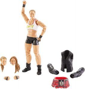 Figura de Ronda Rousey de Mattel 3 - Muñecos de Ronda Rousey - Figuras coleccionables de luchadores de WWE