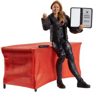 Figura de Ronda Rousey de Mattel 4 - Muñecos de Ronda Rousey - Figuras coleccionables de luchadores de WWE