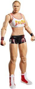 Figura de Ronda Rousey de Mattel - Muñecos de Ronda Rousey - Figuras coleccionables de luchadores de WWE