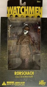 Figura de Rorschach de Watchmen - Figuras coleccionables de Watchmen - Muñecos de Watchmen