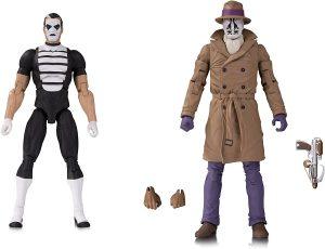 Figura de Rorschach y Mimo de Watchmen de DC - Figuras coleccionables de Watchmen - Muñecos de Watchmen