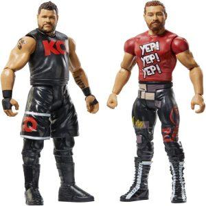 Figura de Sami Zayn y Kevin Owens de Mattel - Muñecos de Kevin Owens - Figuras coleccionables de luchadores de WWE