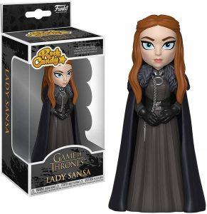 Figura de Sansa Stark de Juego de Tronos de Rock Candy - Muñecos de Juego de tronos de Sansa Stark - Figuras coleccionables de Sansa Stark de Game of Thrones