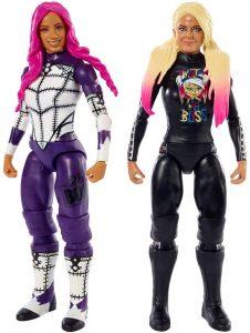 Figura de Sasha Banks y Alexa Bliss de Mattel - Muñecos de Sasha Banks - Figuras coleccionables de luchadores de WWE
