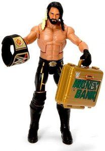 Figura de Seth Rollins de Mattel 11 - Muñecos de Seth Rollins - Figuras coleccionables de luchadores de WWE