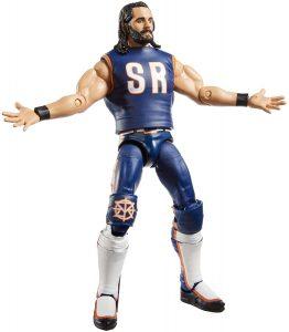 Figura de Seth Rollins de Mattel 4 - Muñecos de Seth Rollins - Figuras coleccionables de luchadores de WWE