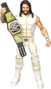 Figura de Seth Rollins de Mattel 7 - Muñecos de Seth Rollins - Figuras coleccionables de luchadores de WWE