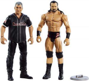 Figura de Shane McMahon de Mattel y Drew McIntyre - Muñecos de Shane McMahon - Figuras coleccionables de luchadores de WWE