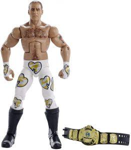 Figura de Shawn Michaels de Mattel - Muñecos de Shawn Michaels - Figuras coleccionables de luchadores de WWE