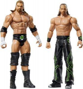 Figura de Shawn Michaels y HHH de Mattel 2 - Muñecos de Shawn Michaels - Figuras coleccionables de luchadores de WWE