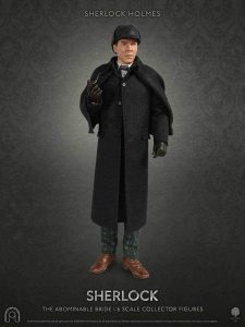 Figura de Sherlock Holmes de Big Chief Studios - Muñecos de Sherlock - Figuras coleccionables de Sherlock Holmes