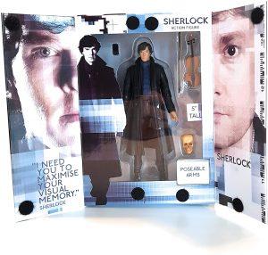 Figura de Sherlock Holmes de Underground Toys - Muñecos de Sherlock - Figuras coleccionables de Sherlock Holmes