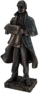 Figura de Sherlock Holmes de Zeckos - Muñecos de Sherlock - Figuras coleccionables de Sherlock Holmes
