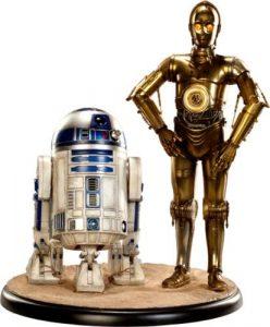 Figura de Sideshow de C3P-O y de R2-D2 - Los mejores Hot Toys de R2-D2 - Figuras coleccionables de R2-D2 de Star Wars