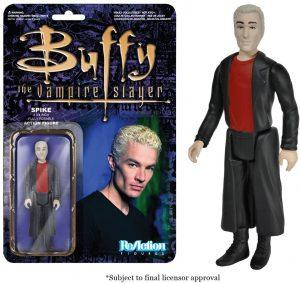 Figura de Spike de Buffy Cazavampiros de ReAction - Muñecos de Buffy Cazavampiros - Figuras coleccionables de Buffy Cazavampiros