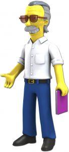 Figura de Stan Lee de Marvel de Neca de los simpsons - Figuras coleccionables de Stan Lee - Muñecos de Stan Lee
