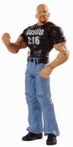 Figura de Stone Cold Steve Austin de Mattel Elite 2 - Muñecos de Stone Cold Steve Austin - Figuras coleccionables de luchadores de WWE
