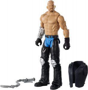 Figura de Stone Cold Steve Austin de Mattel Elite 4 - Muñecos de Stone Cold Steve Austin - Figuras coleccionables de luchadores de WWE