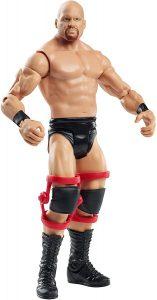 Figura de Stone Cold Steve Austin de Mattel Elite 5 - Muñecos de Stone Cold Steve Austin - Figuras coleccionables de luchadores de WWE