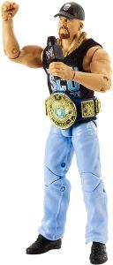 Figura de Stone Cold Steve Austin de Mattel Elite - Muñecos de Stone Cold Steve Austin - Figuras coleccionables de luchadores de WWE