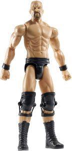 Figura de Stone Cold Steve Austin de Mattel - Muñecos de Stone Cold Steve Austin - Figuras coleccionables de luchadores de WWE