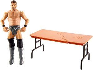 Figura de The Miz de Mattel 3 - Muñecos de The Miz - Figuras coleccionables de luchadores de WWE