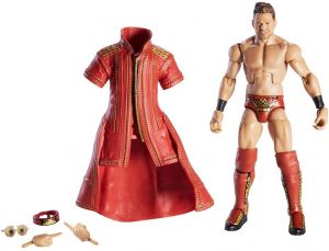 Figura de The Miz de Mattel 4 - Muñecos de The Miz - Figuras coleccionables de luchadores de WWE